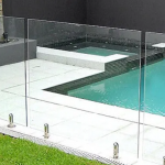 glass pool fencing kits