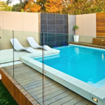 tempered glass frameless pool fence